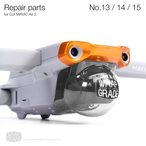 <img class='new_mark_img1' src='https://img.shop-pro.jp/img/new/icons12.gif' style='border:none;display:inline;margin:0px;padding:0px;width:auto;' />Repair parts for DJI Mavic Air 2 全20色 No.13 / No.14 / No.15 セット