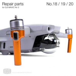 <img class='new_mark_img1' src='https://img.shop-pro.jp/img/new/icons12.gif' style='border:none;display:inline;margin:0px;padding:0px;width:auto;' />Repair parts for DJI Mavic Air 2 全20色  No.18 / No.19 / No.20  セット