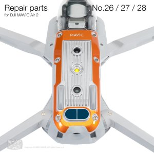 <img class='new_mark_img1' src='https://img.shop-pro.jp/img/new/icons12.gif' style='border:none;display:inline;margin:0px;padding:0px;width:auto;' />Repair parts for DJI Mavic Air 2 全20色  No.26 / No.27 / No.28  セット