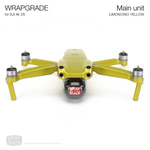 <img class='new_mark_img1' src='https://img.shop-pro.jp/img/new/icons12.gif' style='border:none;display:inline;margin:0px;padding:0px;width:auto;' />WRAPGRADE for DJI Air 2S リモンチーノイエロ