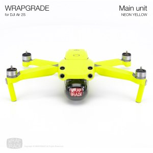 <img class='new_mark_img1' src='https://img.shop-pro.jp/img/new/icons12.gif' style='border:none;display:inline;margin:0px;padding:0px;width:auto;' />WRAPGRADE for DJI Air 2S ネオンイエロー