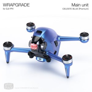 <img class='new_mark_img1' src='https://img.shop-pro.jp/img/new/icons12.gif' style='border:none;display:inline;margin:0px;padding:0px;width:auto;' />WRAPGRADE for DJI FPV セレストブルー【Premium】