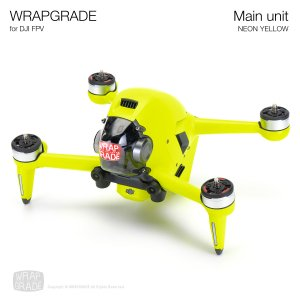 <img class='new_mark_img1' src='https://img.shop-pro.jp/img/new/icons12.gif' style='border:none;display:inline;margin:0px;padding:0px;width:auto;' />WRAPGRADE for DJI FPV ネオンイエロー