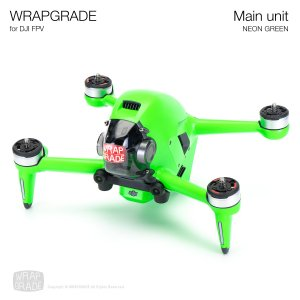 <img class='new_mark_img1' src='https://img.shop-pro.jp/img/new/icons12.gif' style='border:none;display:inline;margin:0px;padding:0px;width:auto;' />WRAPGRADE for DJI FPV ネオングリーン