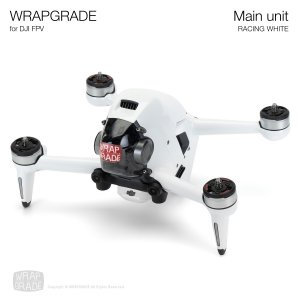 <img class='new_mark_img1' src='https://img.shop-pro.jp/img/new/icons12.gif' style='border:none;display:inline;margin:0px;padding:0px;width:auto;' />WRAPGRADE for DJI FPV レーシングホワイト