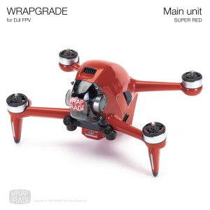 <img class='new_mark_img1' src='https://img.shop-pro.jp/img/new/icons12.gif' style='border:none;display:inline;margin:0px;padding:0px;width:auto;' />WRAPGRADE for DJI FPV スーパーレッド
