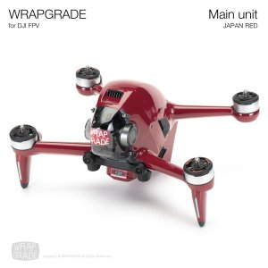 <img class='new_mark_img1' src='https://img.shop-pro.jp/img/new/icons12.gif' style='border:none;display:inline;margin:0px;padding:0px;width:auto;' />WRAPGRADE for DJI FPV ジャパンレッド