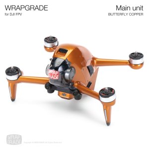 <img class='new_mark_img1' src='https://img.shop-pro.jp/img/new/icons12.gif' style='border:none;display:inline;margin:0px;padding:0px;width:auto;' />WRAPGRADE for DJI FPV バタフライコパー
