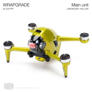 <img class='new_mark_img1' src='https://img.shop-pro.jp/img/new/icons12.gif' style='border:none;display:inline;margin:0px;padding:0px;width:auto;' />WRAPGRADE for DJI FPV リモンチーノイエロ
