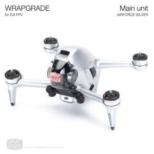 <img class='new_mark_img1' src='https://img.shop-pro.jp/img/new/icons12.gif' style='border:none;display:inline;margin:0px;padding:0px;width:auto;' />WRAPGRADE for DJI FPV エアーフォースシルバー