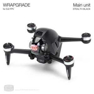 <img class='new_mark_img1' src='https://img.shop-pro.jp/img/new/icons12.gif' style='border:none;display:inline;margin:0px;padding:0px;width:auto;' />WRAPGRADE for DJI FPV ステルスブラック