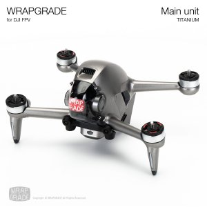 <img class='new_mark_img1' src='https://img.shop-pro.jp/img/new/icons12.gif' style='border:none;display:inline;margin:0px;padding:0px;width:auto;' />WRAPGRADE for DJI FPV チタニウム