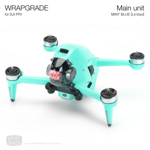 <img class='new_mark_img1' src='https://img.shop-pro.jp/img/new/icons12.gif' style='border:none;display:inline;margin:0px;padding:0px;width:auto;' />WRAPGRADE for DJI FPV ミントブルー【Limited】