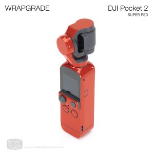 <img class='new_mark_img1' src='https://img.shop-pro.jp/img/new/icons12.gif' style='border:none;display:inline;margin:0px;padding:0px;width:auto;' />WRAPGRADE for DJI Pocket 2 スーパーレッド