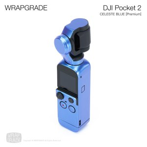 <img class='new_mark_img1' src='https://img.shop-pro.jp/img/new/icons12.gif' style='border:none;display:inline;margin:0px;padding:0px;width:auto;' />WRAPGRADE for DJI Pocket 2 セレストブルー【Premium】