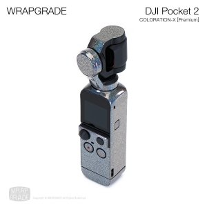 <img class='new_mark_img1' src='https://img.shop-pro.jp/img/new/icons12.gif' style='border:none;display:inline;margin:0px;padding:0px;width:auto;' />WRAPGRADE for DJI Pocket 2 カラーレーションX【Premium】