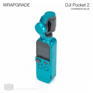 <img class='new_mark_img1' src='https://img.shop-pro.jp/img/new/icons12.gif' style='border:none;display:inline;margin:0px;padding:0px;width:auto;' />WRAPGRADE for DJI Pocket 2 カリビアンブルー