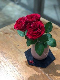 flower's piece#2(pink×darkred)