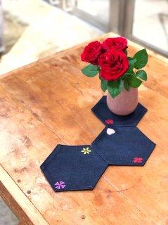 Flower's  pieces (3 set)