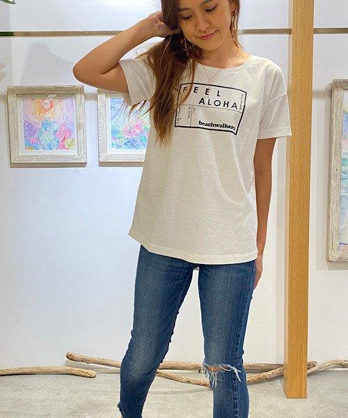 【LADIES】Lilly & Emma×beachwalkers.×人気スタイリスト小山田早織コラボTシャツ<NOAH Series>