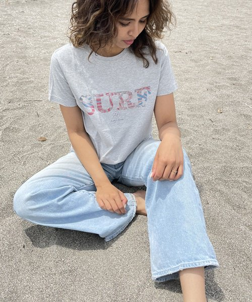 【UNISEX】Authentic SURF Tee / SURF Tシャツ<NOAH Series>
