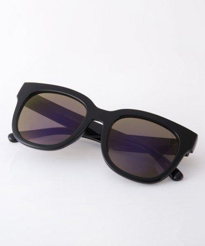 【LADIRES】Sunglasses BLACK×BLACK / サングラス シルバーフレーム