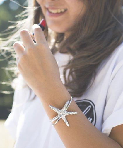 【LADIES】Starfish Silver Bracelet / スターフィッシュ シルバー ブレスレット