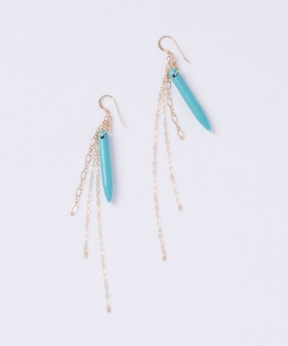 【LADIES】Lino by me Hawaii Taq Stone Pierced Earring / タックストーン イヤリング