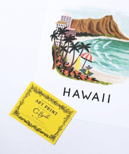 Art Print 「Hawaii」/ アートプリント 「ハワイ」