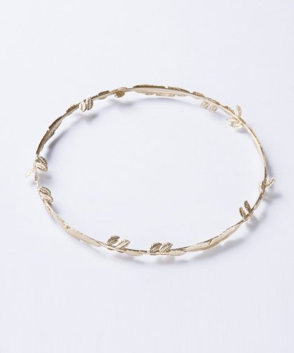 【LADIES】Leaf crown Head Accessary / リーフ クラウン ヘッド アクセサリー