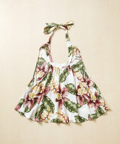 【LADIES】Show Me Your Mumu Authentic Flower Tops / トロピカルフラワー トップス