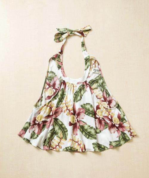 【LADIES】Show Me Your Mumu Authentic Flower Tops / トロピカルフラワー トップス