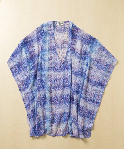 【LADIES】Show Me Your Mumu Blue Chiffon Dress / ブルーピンク シフォンドレス