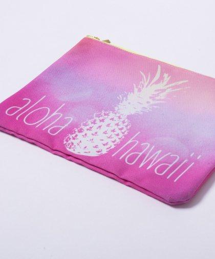 alous Honolulu Tropical Pineapple Clutch Bag / トロピカル パイナップル クラッチバッグ