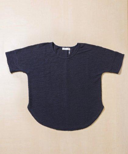 【LADIES】DAHLYA Navy Knit  Top/ネイビーニットトップス