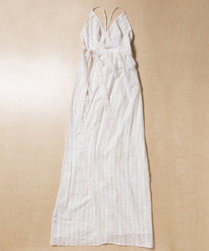 【LADIES】TJD Floret Long Dress / 小花柄キャミワンピース