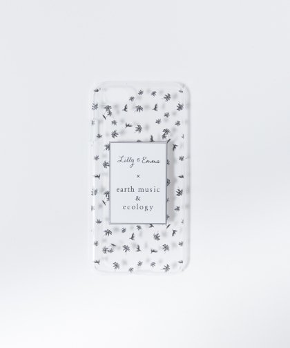 ヤシの木デザインスマホケース ◆ iPhone7/8対応