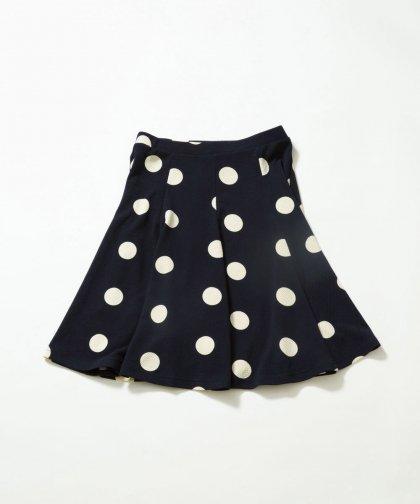 【LADIES】ドット柄スカート