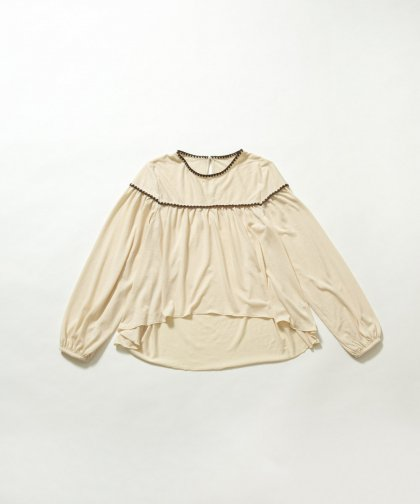 【SALE30%OFF】【LADIES】ハマグリ刺繍プルオーバー
