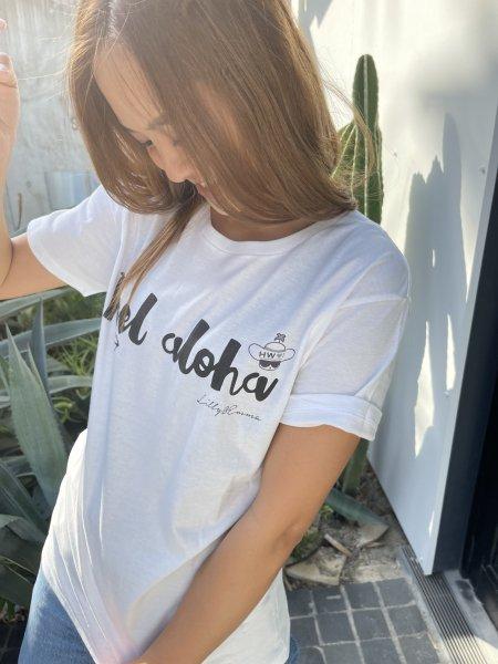【SALE50%OFF】【UNISEX】「ハワイに恋して」コラボFEEL ALOHA Tシャツ