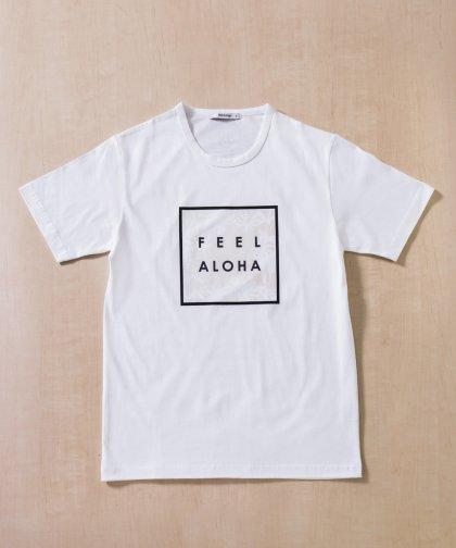 【UNISEX】ラトルトラップコラボレーション/Feel AlohaロゴTシャツ