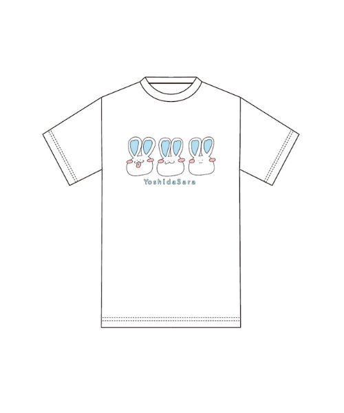 STU48吉田彩良デザインTシャツ