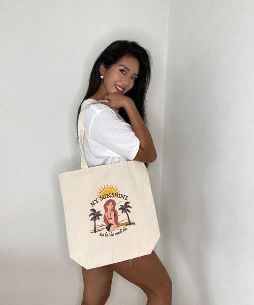 【受注販売】Azusa Dancy×Lilly & Emmaサステナブルトートバッグ