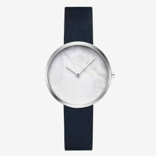 OUTLINE SILVER NAVY 34mm