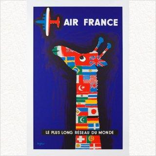 エールフランス 1956(シルクスクリーンL版)