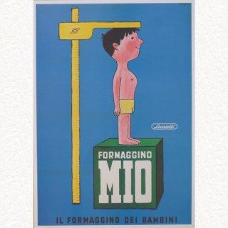 ミオチーズ 1957(ポスターA3 額無し)