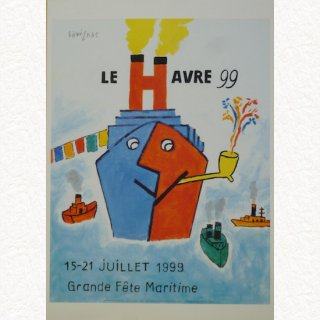 ル・アーヴル99 1999(ポスターA3 額無し)