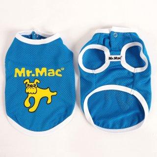 Mr.Mac / クールメッシュTシャツ ブルー