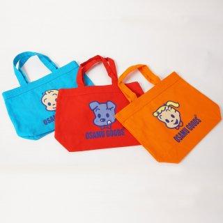 オサムグッズ / OSAMUキャラクターバッグ ブルー、レッド、オレンジ