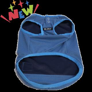 Mr.Mac / 接触冷感素材Tシャツ ブルー(小型犬用)